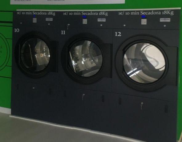 Máquinas de Lavandaria industrial e de self service