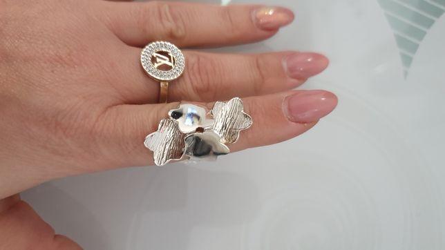 Pierścionek srebro 925.