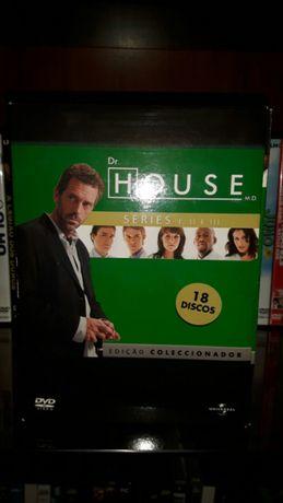 Coleção 1,2,3 temporadas