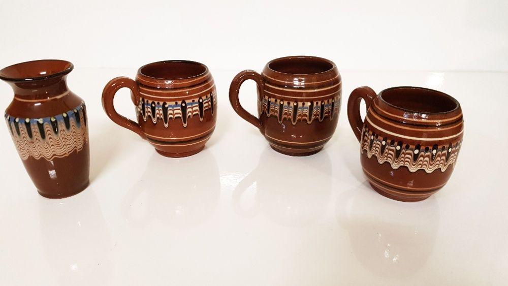 Porcelana ceramika bułgarska kubki wazon lata '70 Pieszyce - image 1