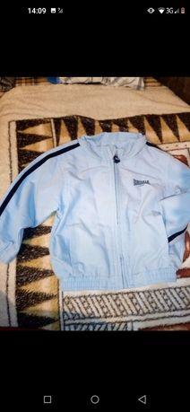 Lonsdale bluza kurtka dresowa dla dziecka dla niemowląt błękitna