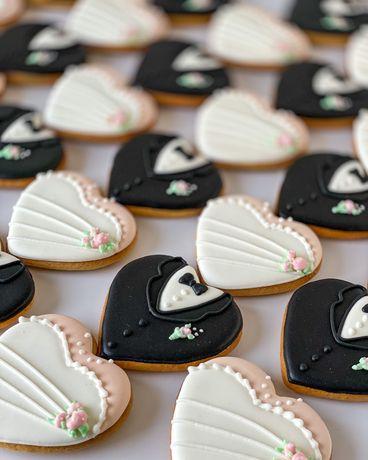 Pierniki ciasteczka dla gości na Wesele, Komunie, Imieniny, Chrzciny