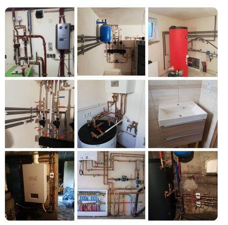 Hydraulik/Monter instalacji grzewczych i sanitarnych, Hydraulik