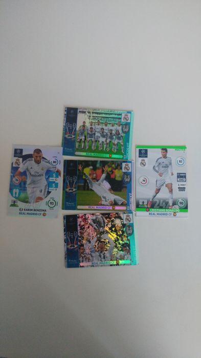 Trzy karty meczu finałowegk Realu Madryt +Ronaldo,Benzema Dobczyce - image 1