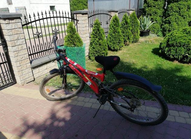 Sprzedam czerwony rower grand