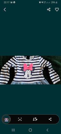 Disney mik sukienka roz 80