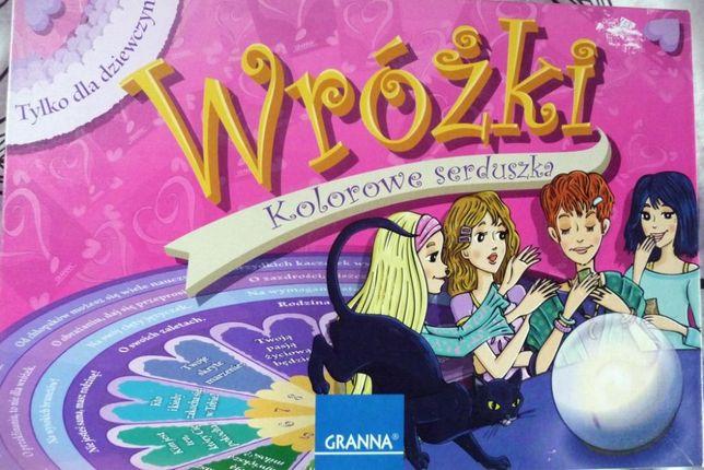 Gra towarzyska planszowa karciana dla dziewczynek Wróżki Granna 9+