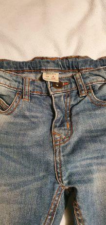 Jeansowe chłopięce spodnie jeansy Zara 6 lat 116 cm. Stan idealny.