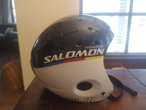 Kask narciarski Salomon world cup equipe