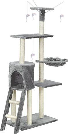 Drapak dla kota XL z zabawkami 135cm
