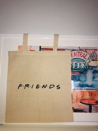 Torba Materiałowa Friends