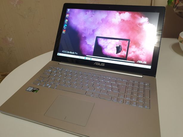 Asus Zenbook Pro UX501VW i7-6700HQ 16G GTX960M 2G SSD128Gb+HDD1Tb QHD