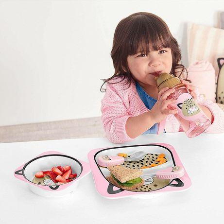 Набор детских тарелок Skip Hop Zoo/Скип Хоп детская посуда, тарелки