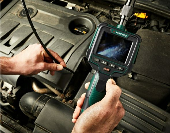 Kamera inspekcyjna z wyświetlaczem