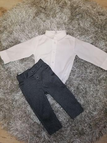 Komplet spodnie+koszulobody