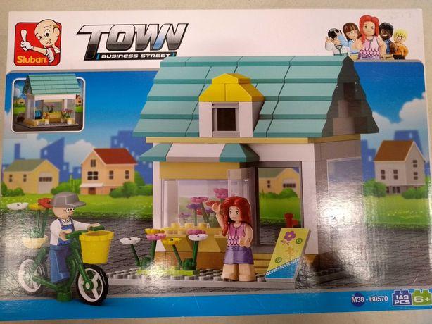 Nowe klocki town układanka j.Lego city friends kwiaciarnia sklep