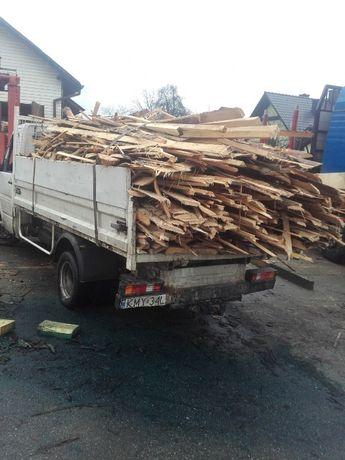 Zrzyny Tartaczne,całe auto! drewno opałowe.
