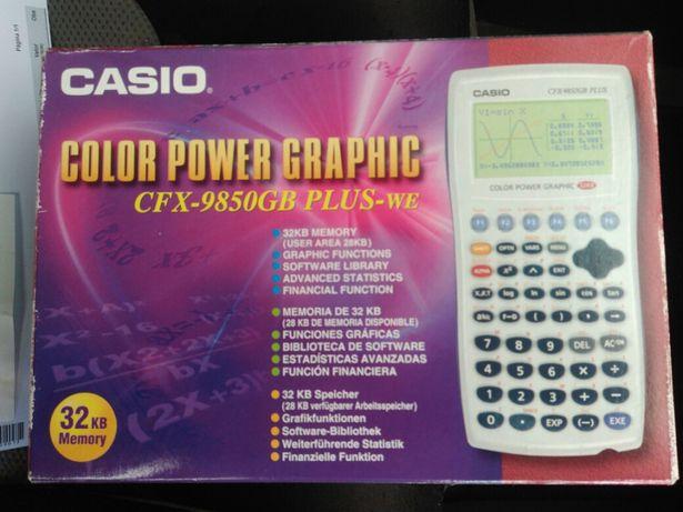Maquina calcular gráfica Casio