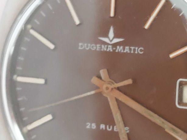 Relógio Dugena mátic automático anos 70