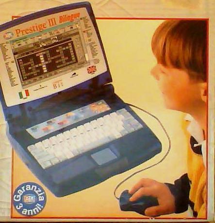 Ноутбук детский для обучения английскому языку в игровой форме.