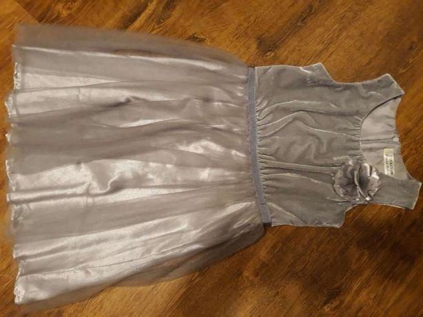 Sukienka dziewczęca 134 nowa
