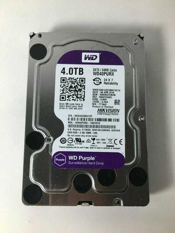 Disco HDD Interno WD PURPLE (4 TB - SATA - 5400 RPM)
