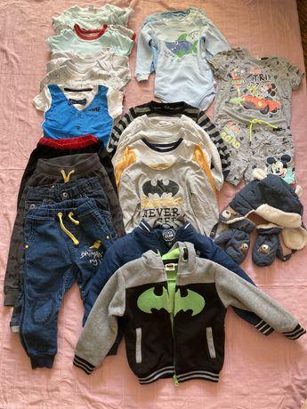 Ubranka rozmiar 92 dla chłopca