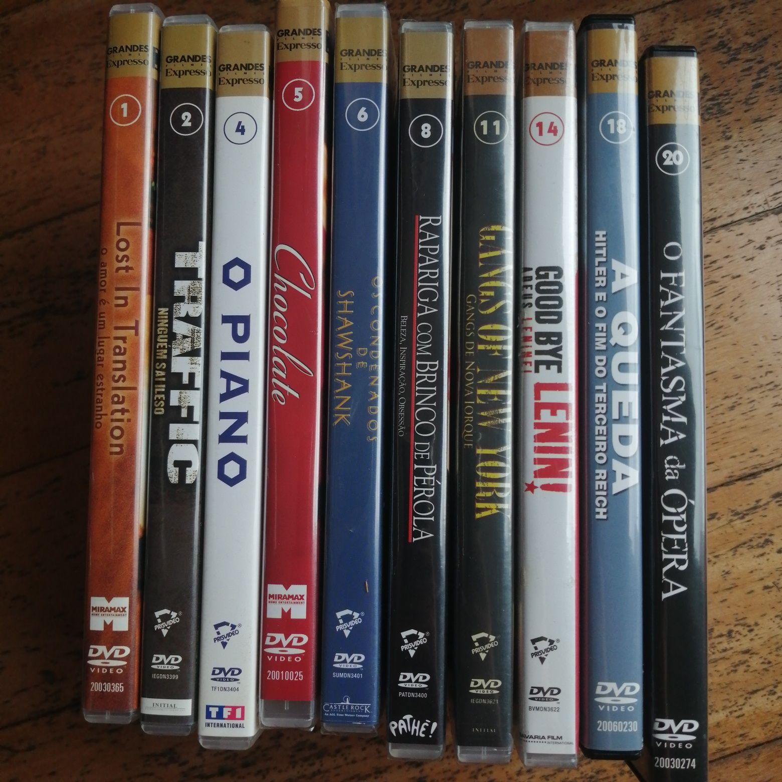 20 DVD filmes nomeados vencedores