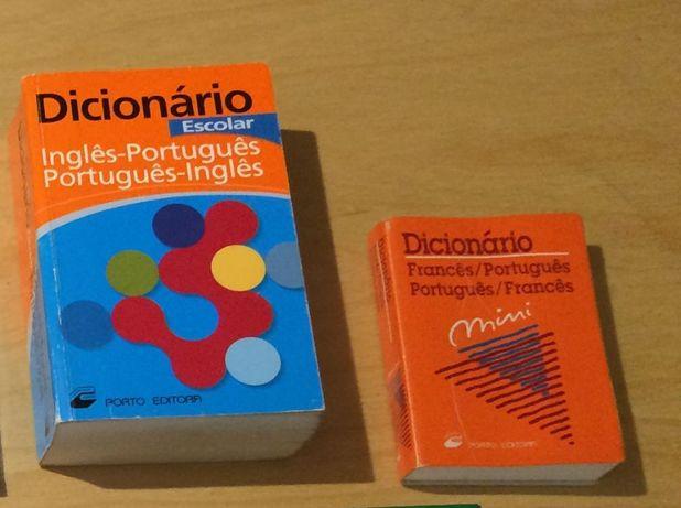 Vendo Dicionários de varias línguas em bom estado