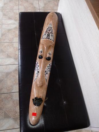 Maska drewniana ręcznie rzeźbione