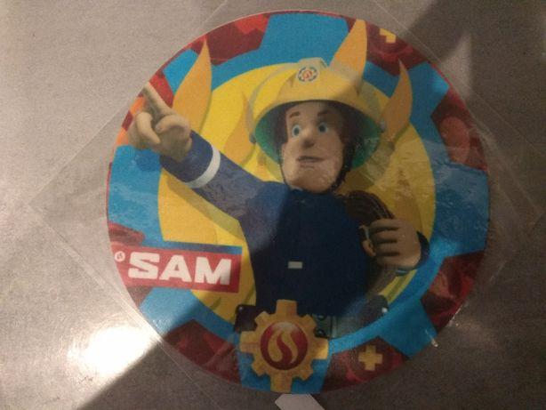 Opłatek na tort urodzinowy urodziny Strażak Sam