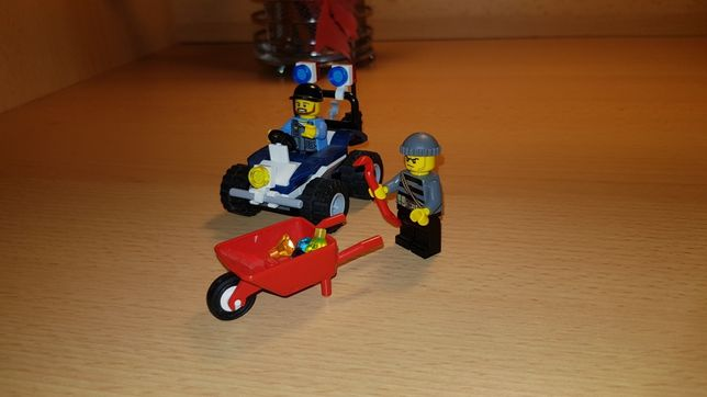 Lego City 60006 quad policyjny 100% klocków pudełko