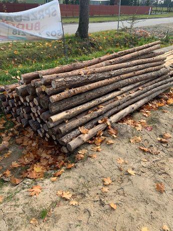 Drewniane stemple budowlane tanio