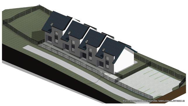 Nowe 4- domy na sprzedaż . Ceny BRUTTO.