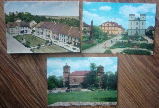 Toszek pocztówki 3 szt
