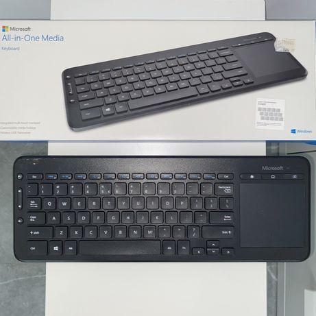 Klawiatura bezprzewodowa Microsoft All In One Media Keyboard