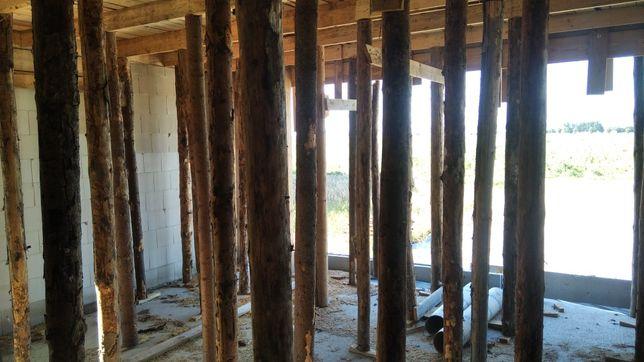 Stemple drewniane budowlane 2,7m bardzo grube