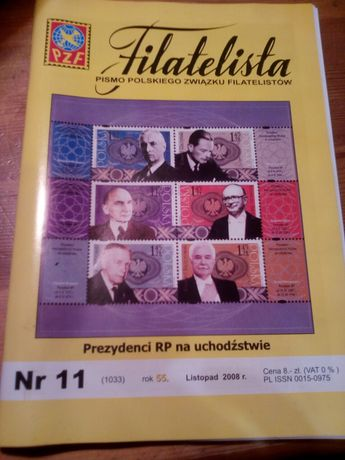 Filatelista.nr.11/2008.