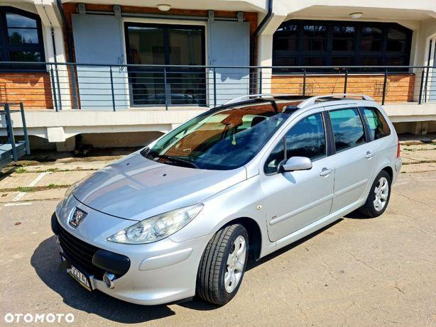 Peugeot 307 Peugeot 307 SW Lift 1.6 HDI Bardzo Ładny Mało Pali Szklany Dach