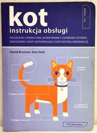 Kot. Instrukcja obsługi - David Brunner, Sam Stall