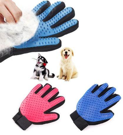 NOWA rękawica dla psa kota szczotka grzebień do czesania sierści