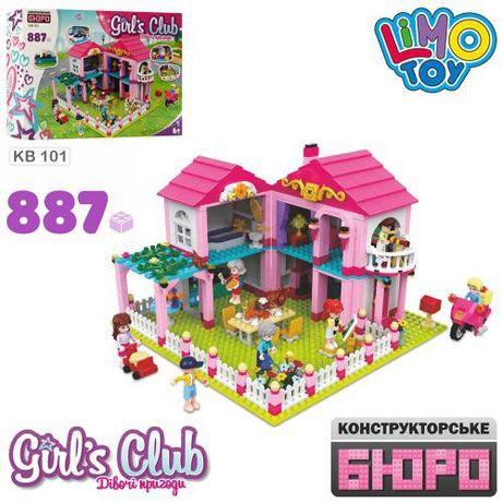 Конструктор Limo Toy KB 101 Кукольный домик 887 дет аналог Lego