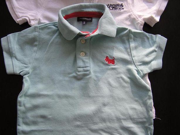 Koszulka polo krótki rękaw t-shirt KappAhl roz. 98 stan idealny