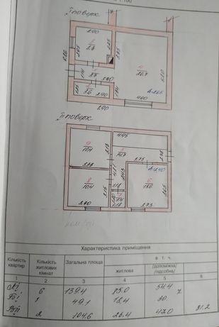 , продам окремий будинок в центрі міста