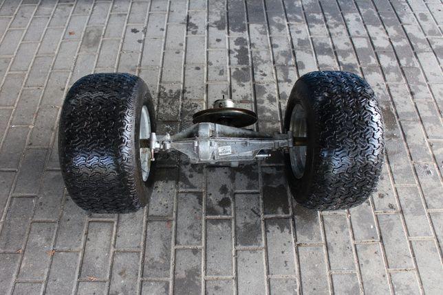 Traktorek skrzynia dyfer z kołami