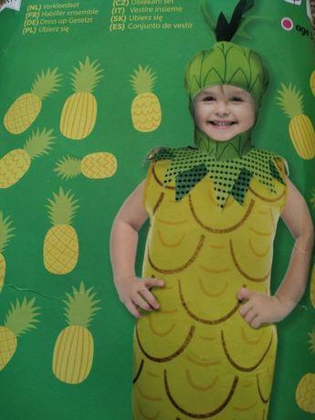 Strój ananas dla dziewczynki