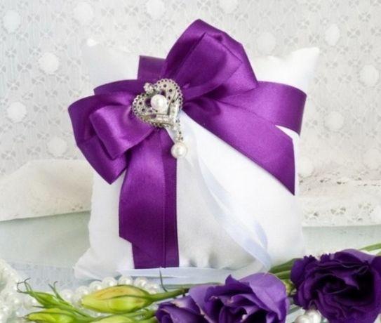 Подушечки для обручальных колец. Атрибуты на свадьбу.
