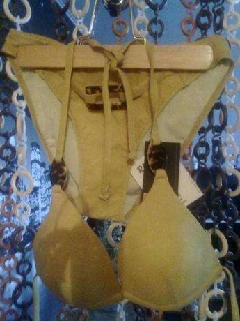 КУПАЛЬНИК горчично-желтого цвета фирмы Rivage СКИДКА - 20
