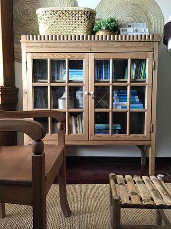 aparador, armario, vitrine, casquinha, vintage, retro, rustico