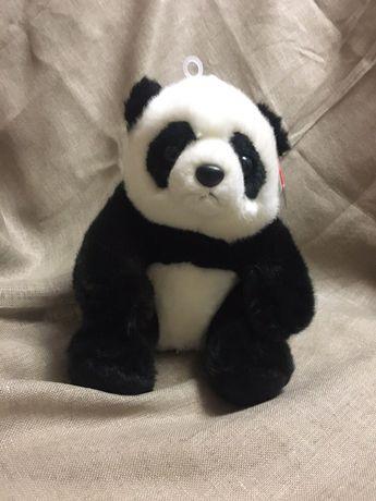 Реалистичный панда , мягкая игрушка 23 см